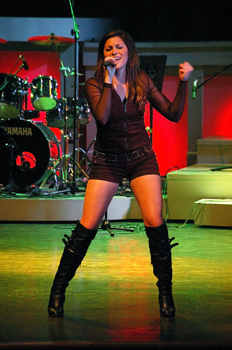 alaina blair in concert photo
