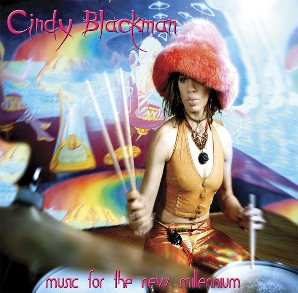 Cindy Blackman Cover art